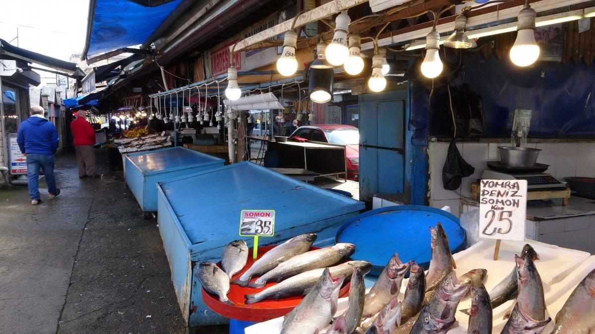 Karadeniz de av azalınca Trabzon a İzmir ve İstanbul'dan balık gitti #3