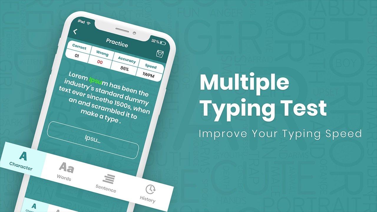 Typing Speed Test Challenge - Improve Typing Speed