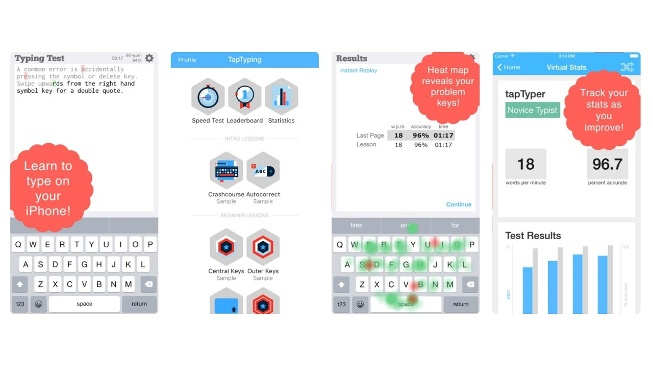 TapTyping - Typing Trainer